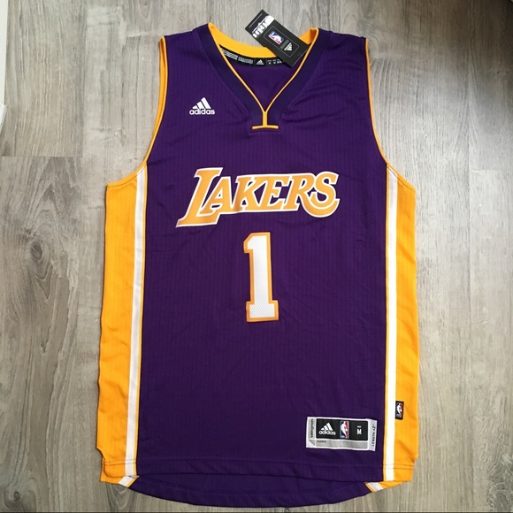 65fe902a adidas Shirts | Los Angeles Lakers Dangelo Russell Jersey | Poshmark